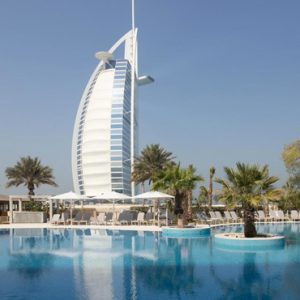 luxury Dubai holiday Packages Jumeirah Beach Hotel Dubai Pool