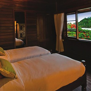 Enchanted Island Resort - Seychelles Luxury holiday - bedroom