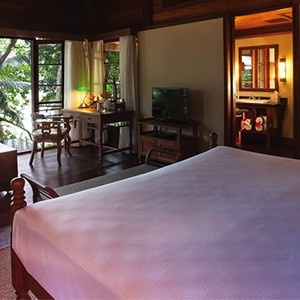 Enchanted Island Resort - Seychelles Luxury holiday - bedroom view