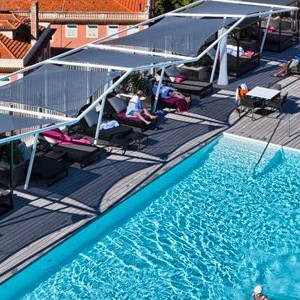 Epic Sana - Portugal Luxury Holidays - pool overview