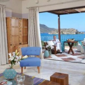Family Suite Pool 5 - domes of elounda - luxury greece holiday packages