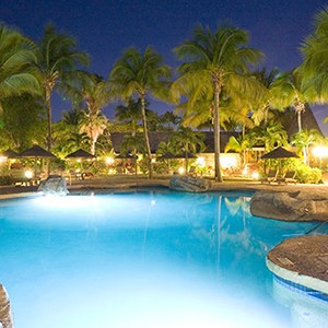 Galley Bay - Antigua holiday Packages - pool night