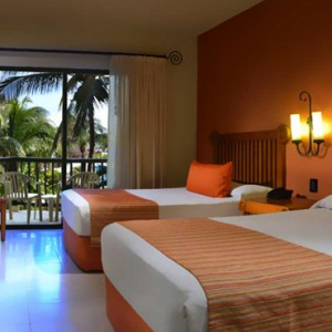 Garden View Rooms 2 - Catalonia Yucatan Beach - Luxury Mexico Holiday Packages