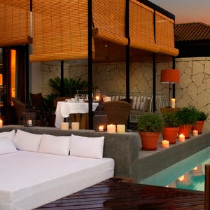 Gran Hotel Bahia Del Duque- terrace