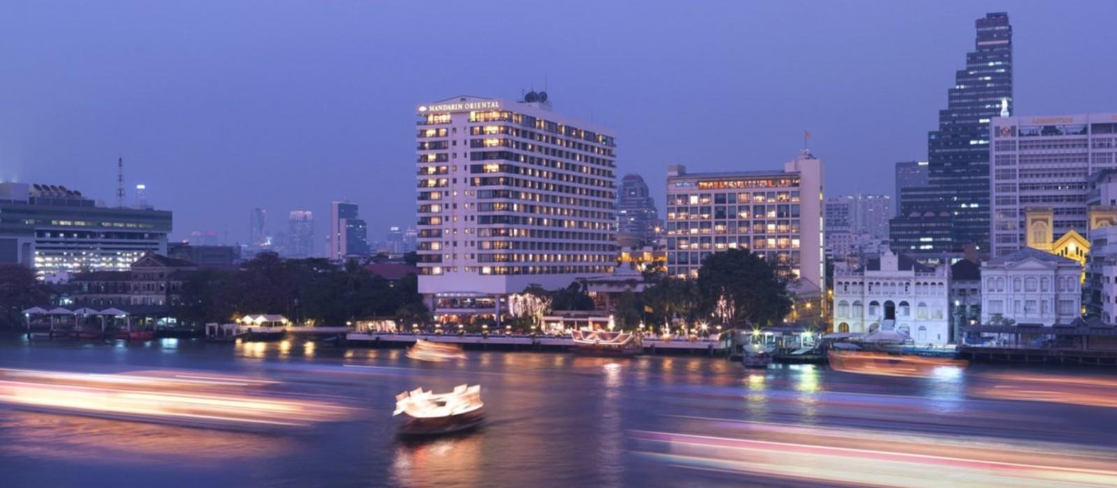 Header - Mandarin Oriental Bangkok - Luxury Thailand Holidays