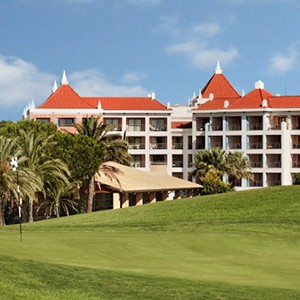 Hilton Vilamoura - golfing