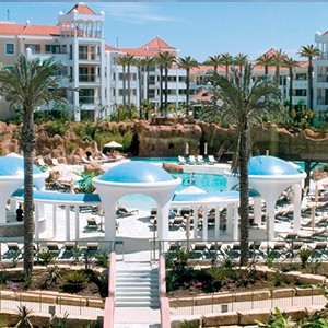 Hilton Vilamoura - pool area