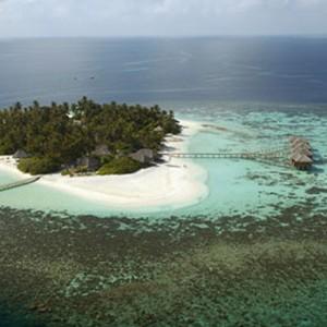 luxury maldives holidays - Kandolhu Island - aerial
