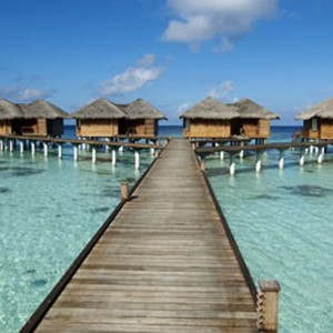 Kandolhu Island - water villa