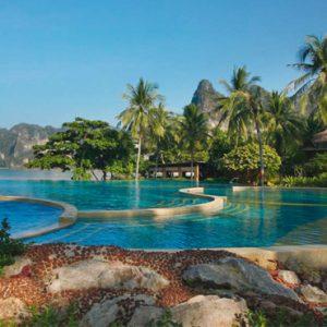luxury Krabi holiday Packages Rayavadee Krabi Pool 2