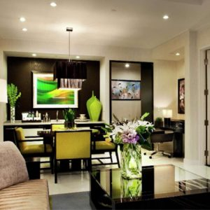 luxury Las Vegas holiday Packages Aria Resort And Casino Sky Suites Two Bedroom Mountain View