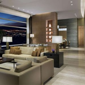 luxury Las Vegas holiday Packages Aria Resort And Casino Sky Suites Two Bedroom Sky Villa