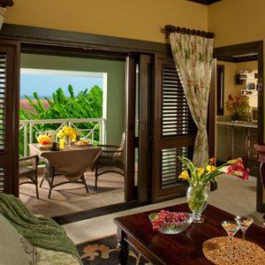 Living Room Butler Village Honeymoon Poolside One Bedroom Villa Suite Sandals Ochio Rios Jamaica