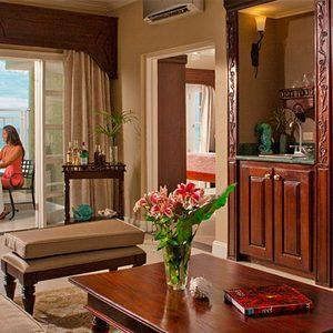 Living Room Sandals Ochio Rios Jamaica Riviera Beachfront One Bedroom Butler Suite