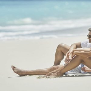 Luxury Bahamas Holiday Packages The Ocean Club, A Four Seasons Resort Couple On Beach