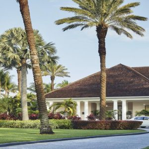 Luxury Bahamas Holiday Packages The Ocean Club, A Four Seasons Resort Hotel Entrance