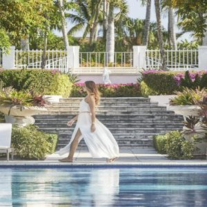 Luxury Bahamas Holiday Packages The Ocean Club, A Four Seasons Resort Women By Pool