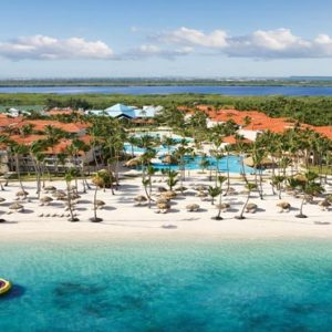 Luxury Dominican Republic Holiday Packages Dreams Palm Beach Punta Cana Aerial View
