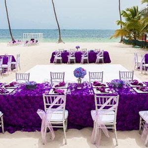 Luxury Dominican Republic Holiday Packages Dreams Palm Beach Punta Cana Beach Wedding Reception