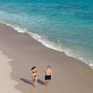 Luxury Dominican Republic Holiday Packages Dreams Palm Beach Punta Cana Couple On Beach