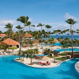 Luxury Dominican Republic Holiday Packages Dreams Palm Beach Punta Cana Main Pool