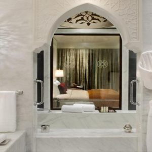 Luxury Dubai Holiday Packages Jumeirah Zabeel Saray Club Double Room Bathroom