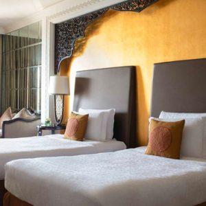 Luxury Dubai Holiday Packages Jumeirah Zabeel Saray Club Double Room Bedroom