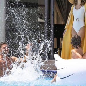Luxury Dubai Holiday Packages Jumeirah Zabeel Saray Four Bedroom Lagoon Royal Residences Pool