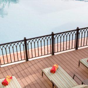 Luxury Dubai Holiday Packages Jumeirah Zabeel Saray Four Bedroom Lagoon Royal Residences Balcony