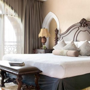 Luxury Dubai Holiday Packages Jumeirah Zabeel Saray Four Bedroom Lagoon Royal Residences Bedroom1
