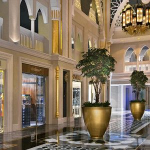 Luxury Dubai Holiday Packages Jumeirah Zabeel Saray Interior 2