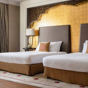 Luxury Dubai Holiday Packages Jumeirah Zabeel Saray Two Bedroom Suite Bedroom