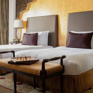 Luxury Dubai Holiday Packages Jumeirah Zabeel Saray Two Bedroom Suite Bedroom1