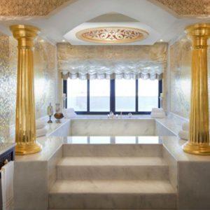 Luxury Dubai Holiday Packages Jumeirah Zabeel Saray Bathroom