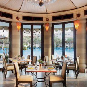 Luxury Dubai Holiday Packages Jumierah Al Qasr At Madinat Jumierah Dining 2