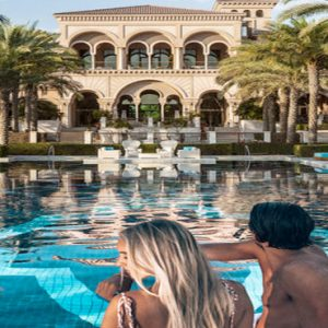 Luxury Dubai Holiday Packages One&Only The Palm Couple By Pool