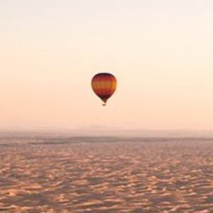 Luxury Dubai Holiday Packages One&Only The Palm Hot Air Balloon