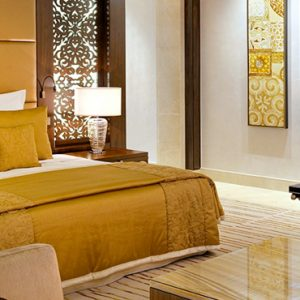 Luxury Dubai Holiday Packages One&Only The Palm Manor 'Grand Palm' Suite Bedroom