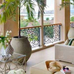 Luxury Dubai Holiday Packages One&Only The Palm Manor 'Grand Palm' Suite Terrace