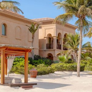 Luxury Dubai Holiday Packages One&Only The Palm Palm Beach Executive Suite Beach Area