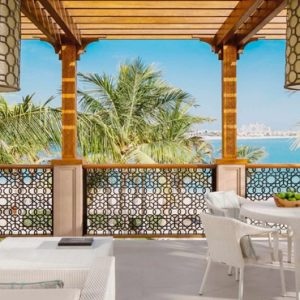 Luxury Dubai Holiday Packages One&Only The Palm Palm Beach Executive Suite Terrace