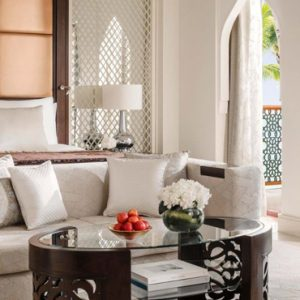 Luxury Dubai Holiday Packages One&Only The Palm Palm Beach Premiere Room Bedroom