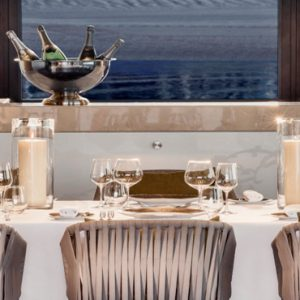 Luxury Dubai Holiday Packages One&Only The Palm Private Dining