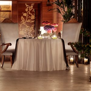 Luxury Dubai Holiday Packages One&Only The Palm Private Dining1