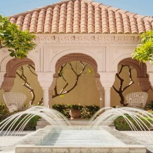 Luxury Dubai Holiday Packages One&Only The Palm Spa Courtyard