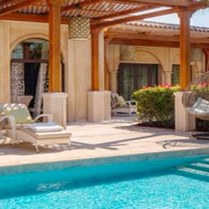 Luxury Dubai Holiday Packages One&Only The Palm Two Bedroom Beachfront Villa Pool
