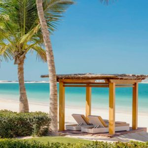 Luxury Dubai Holiday Packages One&Only The Palm Two Bedroom Beachfront Villa Beach Cabana