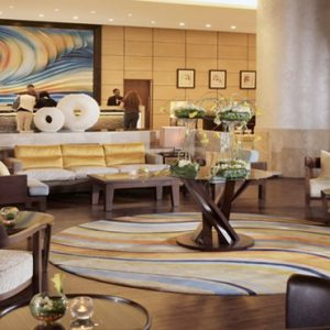 Luxury Dubai Holidays Amwaj Rotana Atrium Lobby Lounge