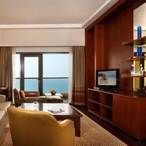Luxury Dubai Holidays Amwaj Rotana Classic Sea View Suite1