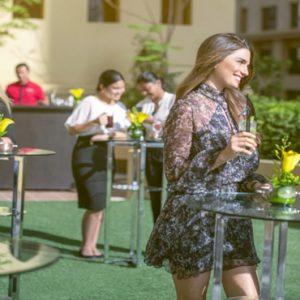 Luxury Dubai Holidays Amwaj Rotana Drinks Outdoor